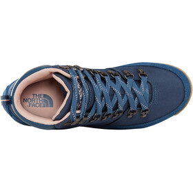 The North Face W's Back-To-Berkeley Redux Shoes Blue Wing Teal/Misty Rose